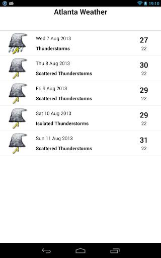 天氣必備APP下載|Atlanta Weather 好玩app不花錢|綠色工廠好玩App