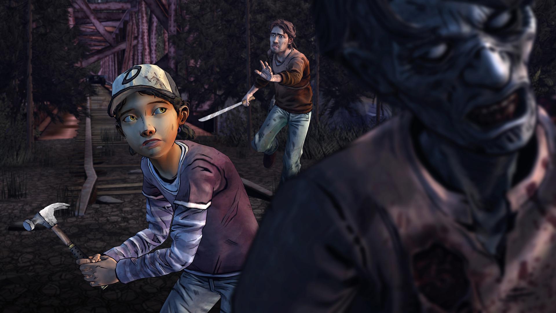The Walking Dead: Season Two screenshot #13