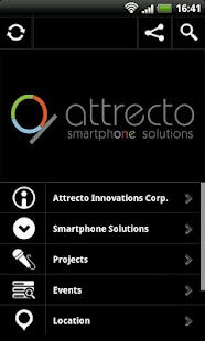 Attrecto Smartphone Solutions - screenshot thumbnail