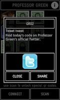 Screenshot of Professor Green Official App