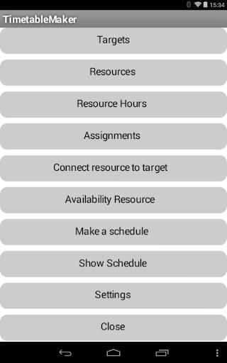 TimetableMaker