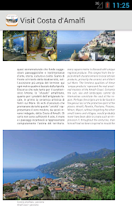 Visit Costa d'Amalfi - screenshot thumbnail