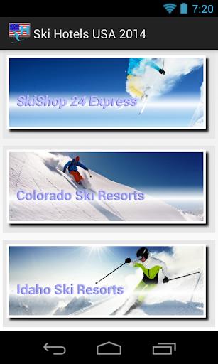 Ski Hotel USA: Good Weather