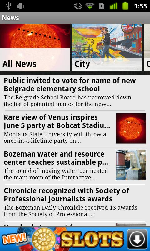 Bozeman Daily Chronicle - screenshot