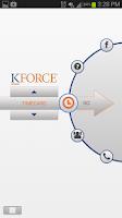 Screenshot of Kforce