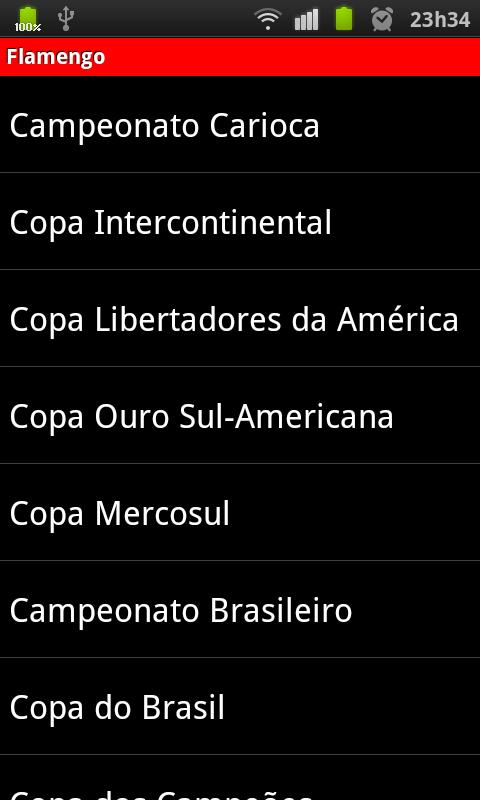 Noticias do Flamengo - screenshot