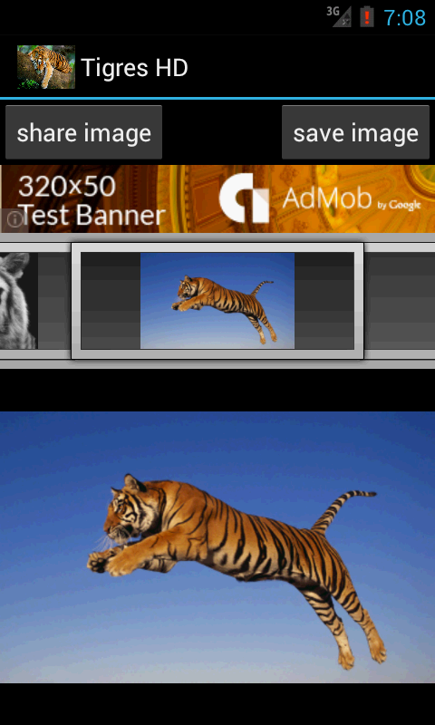 Tiger HD- screenshot