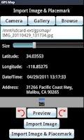 Screenshot of GPS Map Pro