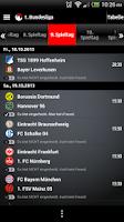 Screenshot of FANTOMIC Fussball Live-Ticker
