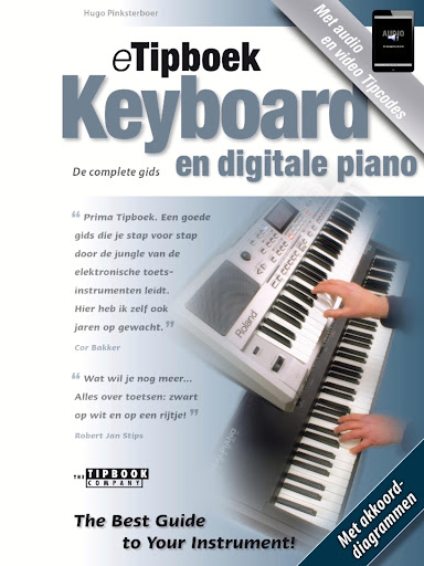 eTipboek Keyboard en dig piano