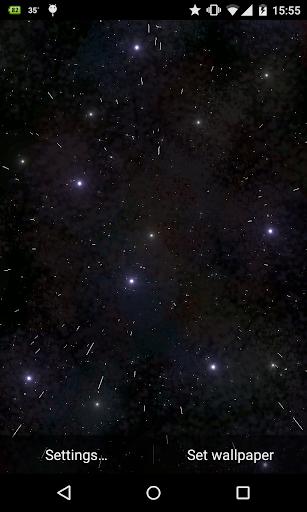Starfield 3D Live Wallpaper