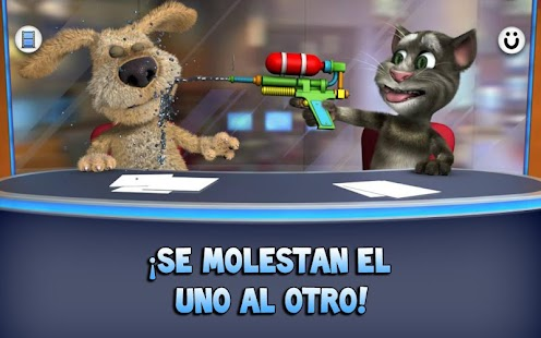 Talking Tom & Ben News: miniatura de captura de pantalla
