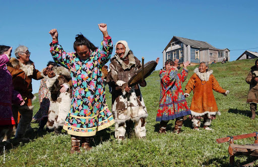 Silversea-Silver-Discoverer-Chukotka-villagers - Encounter local villagers and old traditions in Chukotka, Russia, across the Bering Sea from Alaska, when you sail on Silver Discoverer.