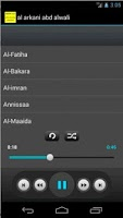 Screenshot of Holy Quran AbdAlwaliy Alarkani