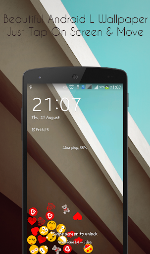 Live Wallpaper for Android L