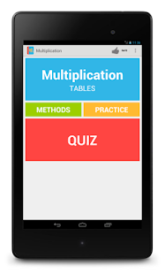 Learning Multiplication- screenshot thumbnail