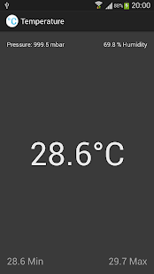 Ambient Temperature - Galaxy- screenshot thumbnail