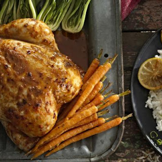 PERi-PERi Roast Chicken with Coconut and Lime Rice Recipe