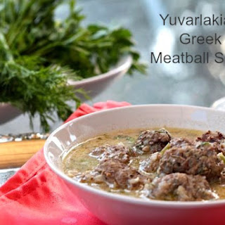 Yuvarlakia – Greek Meatball Soup