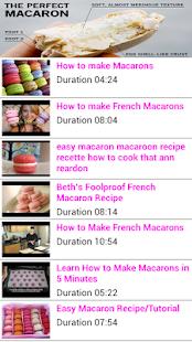 Macaron Homemake Recipes