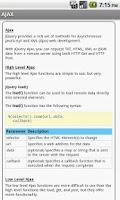 Screenshot of jQuery Pro Quick Guide