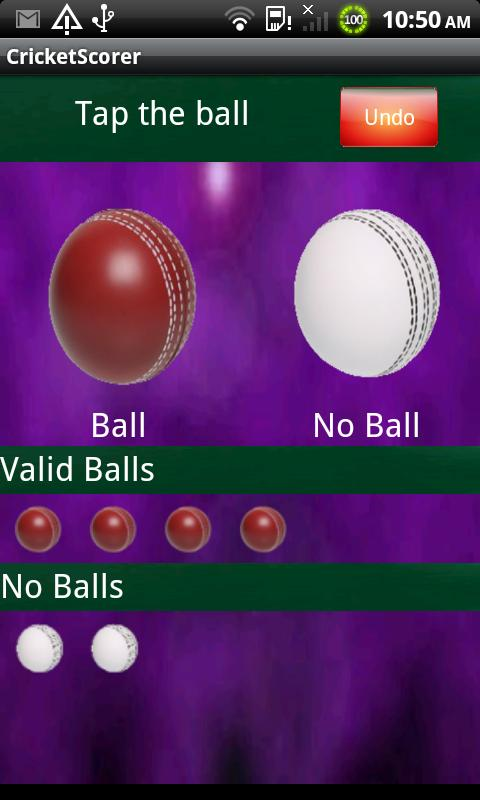 Cricket Scorer- screenshot