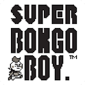 Boy retro video game theme icon