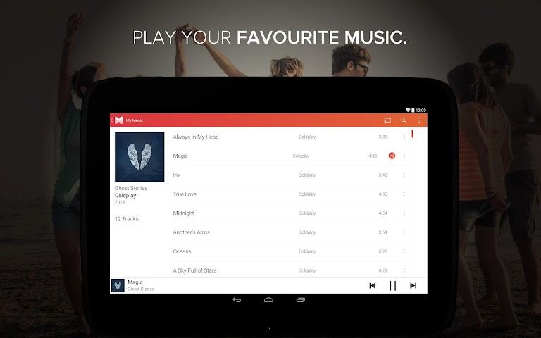 android Musixmatch Songtexte Screenshot 2