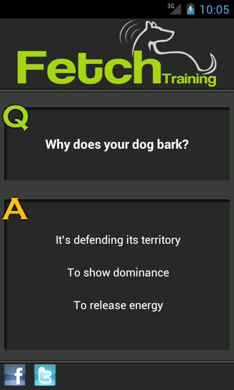 Fetch™ Dog Training - screenshot