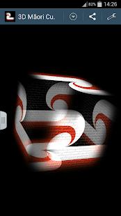 3D Māori Cube Flag LWP - screenshot thumbnail