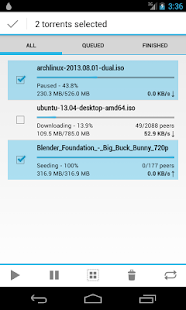 Flud - Torrent Downloader - screenshot thumbnail