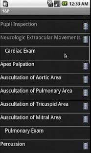 Smart Medical Apps - H&P- screenshot thumbnail