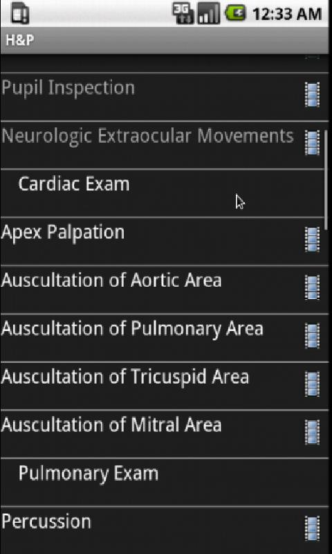 Smart Medical Apps - H&P- screenshot