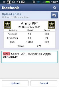 Army PFT - screenshot thumbnail
