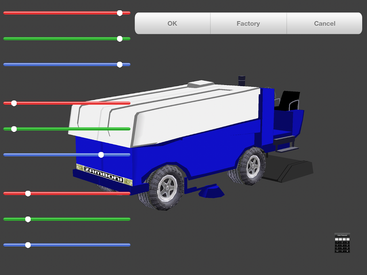 Zamboni Challenge- screenshot