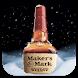 Maker's Mark Snow Globe