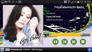 Screenshot of Tropicalisima.fm Radio