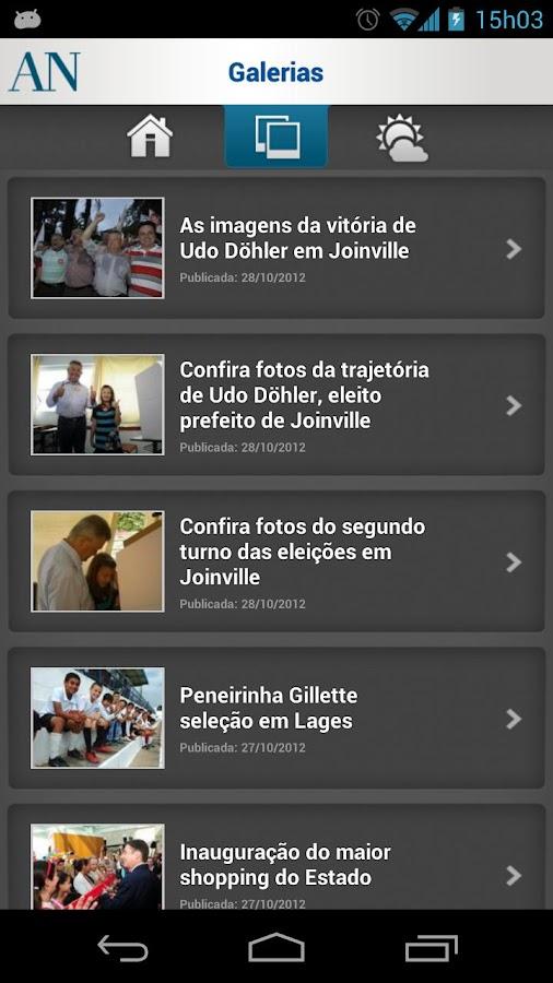 A Notícia - screenshot