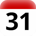 PR holidays calendar widget icon