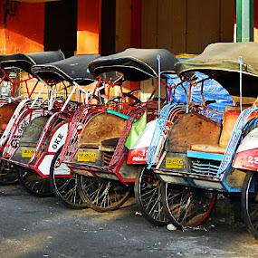 Java's Old Vehicles by Diadjeng Laraswati H - Transportation Other ( , land, device, transportation )