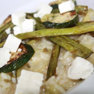 Zucchini Risotto.