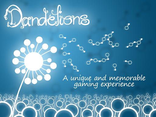 Dandelions Chain of Seeds