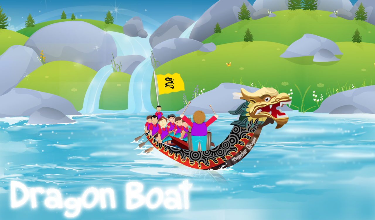 Dragon Boat Racing - screenshot