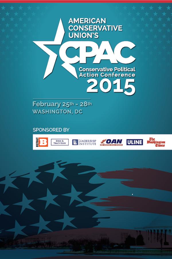 CPAC 2015 - screenshot