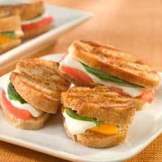 Italian Grilled Cheese Panini Bites.