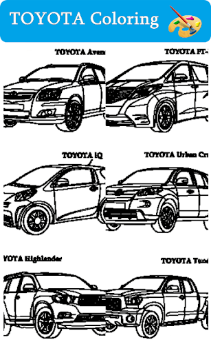 TOYOTA Coloring