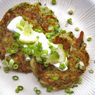 Quick Zucchini and Dill Pancakes