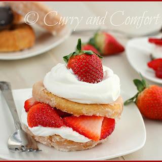 Doughnut Strawberry Shortcakes Recipe