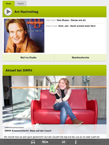 【免費媒體與影片App】SWR4 Rheinland-Pfalz Radio-APP點子