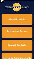Screenshot of ComTrain Mobile